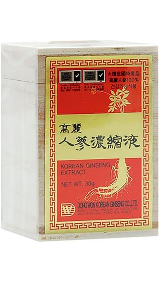 Ginseng coreano estratto