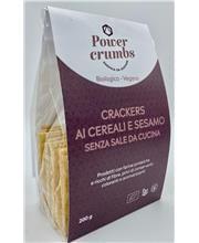 crackers cereali e sesamo