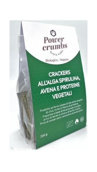 crackers spirulina