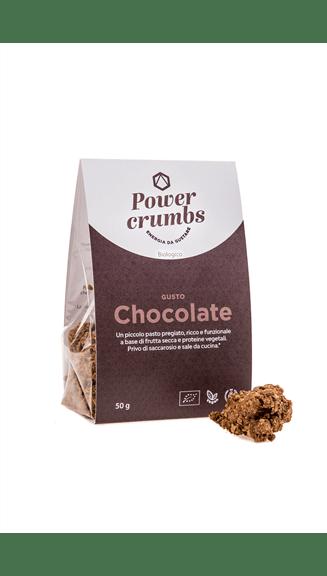 power crumbs chocolate