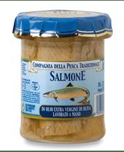 salmone olio evo
